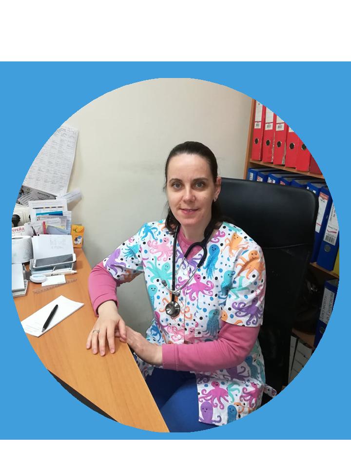 д-р Мария Митовска, личен, семеен, общопрактикуващ лекар, Пловдив